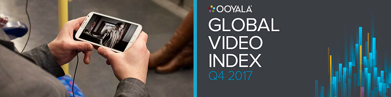 Ooyala's Global Video Index Report for Q4 2017