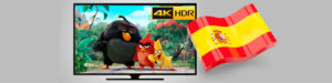 Spaniards willing to pay more to watch 4K video